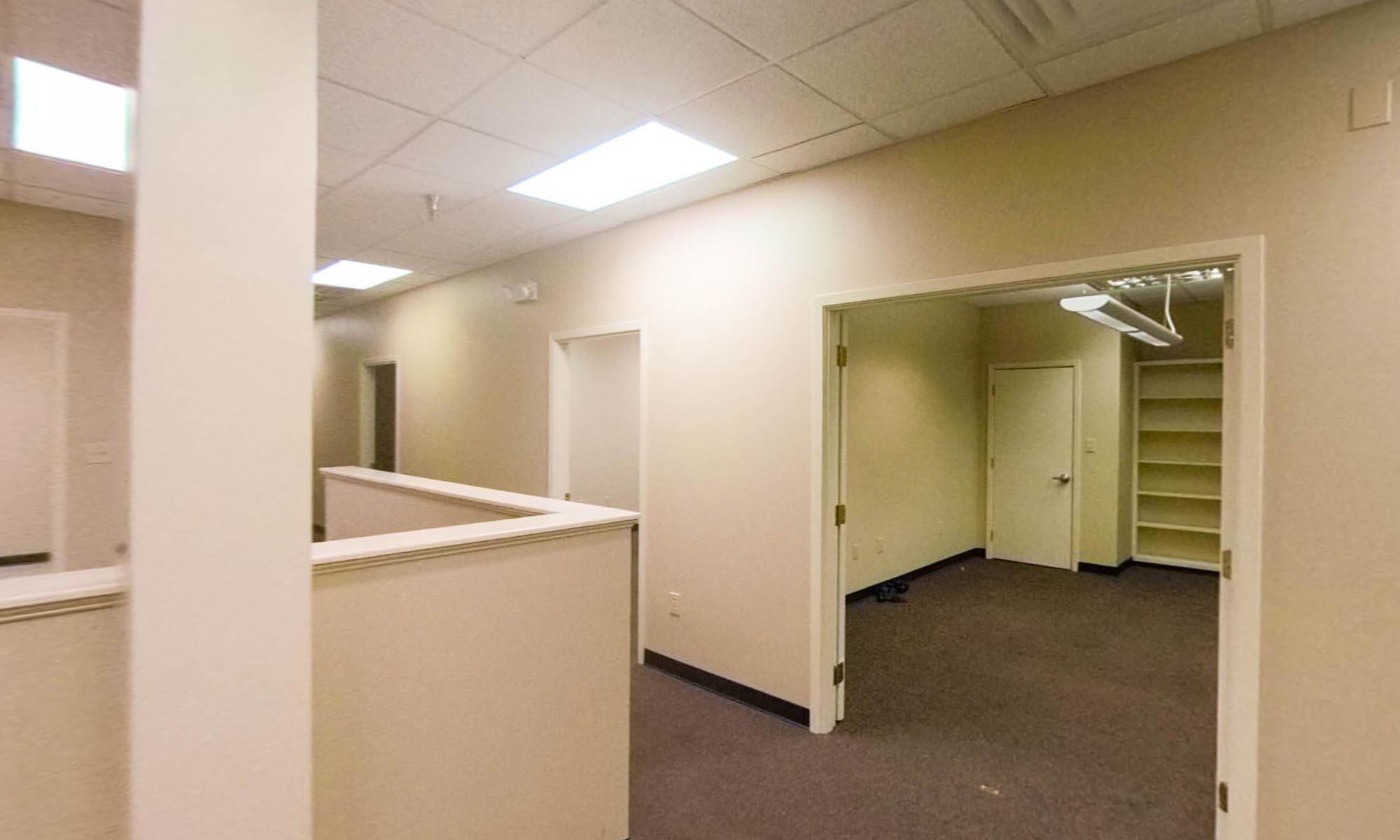 OIB Plaza Suite 117 reception Area.