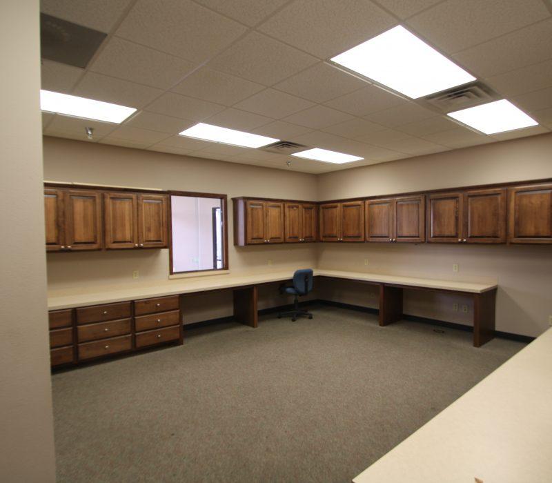 Medical Office Reception Desk
